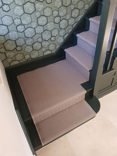 Staircases with Alternative Flooring.