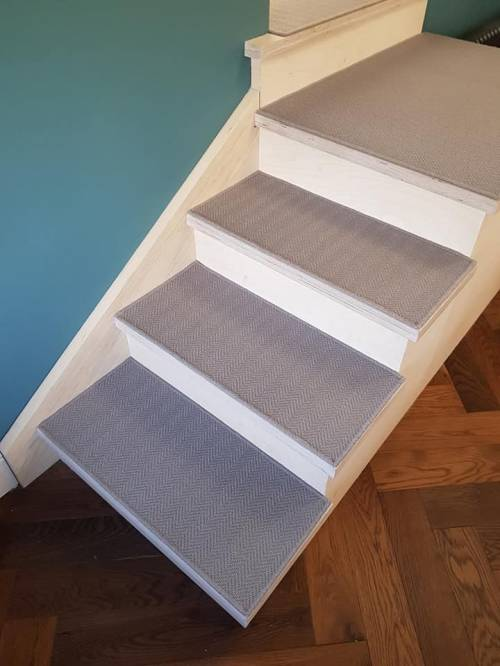 Staircase using Alternative Flooring - By Floor Styles Ltd