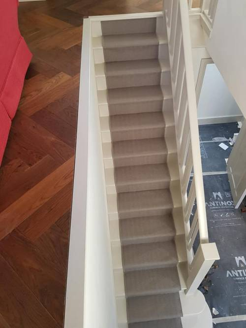 A staircase by Floor Styles